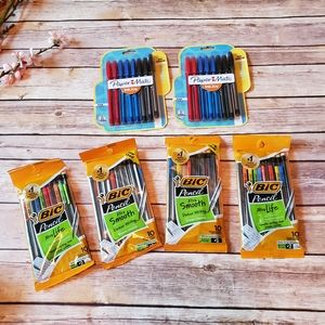 Lot of 59 Paper Mate BIC Gel Pen Pencil 0.7mm #2